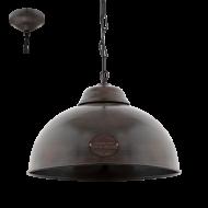 Závěsné stropní světlo industrial TRURO 2 49632