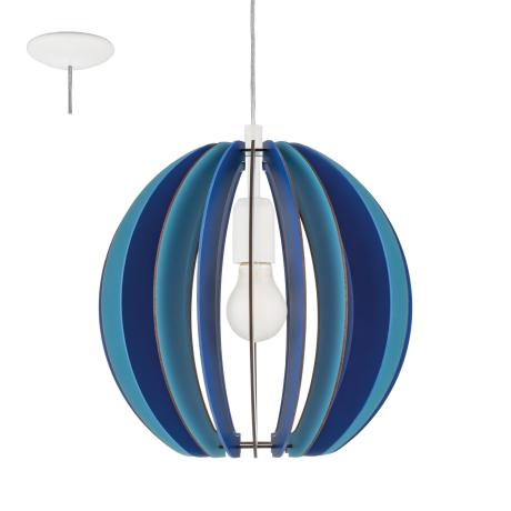 Závěsné osvětlení modré FABELLA 95949
