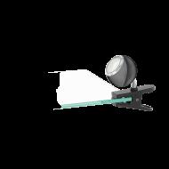 LED lampička s klipem - černá BIMEDA 96838