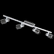Bodové svítidlo se čtyřmi LED žárovkami DAVIDA 1