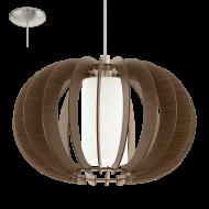 Závěsné osvětlení dřevěná kostra STELLATO 3 95591
