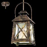 Závěsná lucerna na žárovku REDFORD 49347