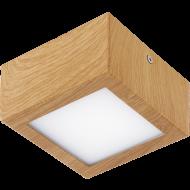 LED stropní přisazené osvětlení dřevěné COLEGIO 95195