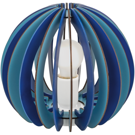 Pokojová lampička modrá FABELLA 95951