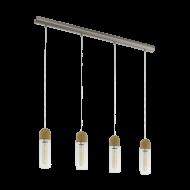 Závěsné LED osvětlení se čtyřmi stínítky ZACHARO 1 96945