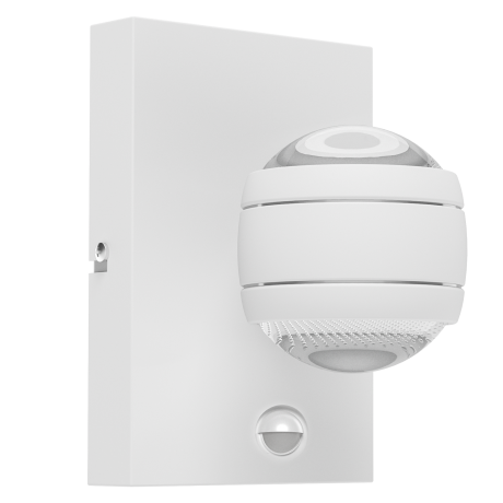 Designové venkovní LED svítidlo, bílé SESIMBA 1 96022