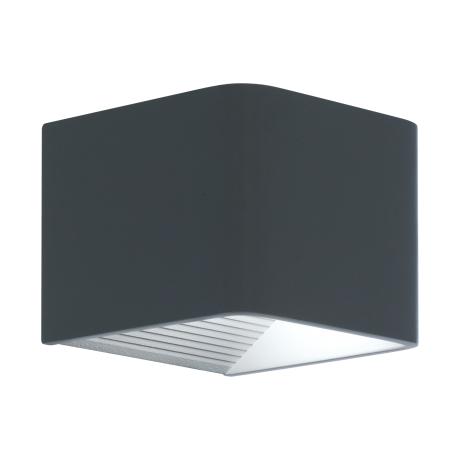 Venkovní nástěnné LED světlo - antracitové DONINNI 96501