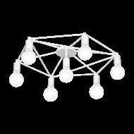 Stropní svítidlo, 7 x 60W, bílé STAITI 97896