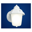 Venkovní lampa na stěnu bílé barvy LATERNA 7