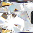 Závěsný lustr se sklíčky a křišťálem FEDRA