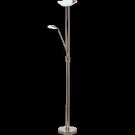 Stojací lampa pokojová stmívatelná bronz BAYA LED 93876