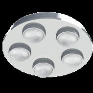 LED stropní osvětlení nízké kruh LOMBES 94546