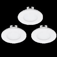 Sada LED bodovka zápustná bílá FUEVA 1 94732