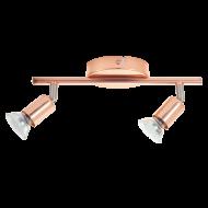 Stropní bodové osvětlení v mědi LED BUZZ-COPPER 94773