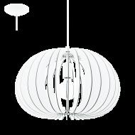 Závěsný lustr s dřevěnou konstrukcí COSSANO 94442