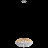 Závěsné svítidlo s dřevěným stínítkem SOTOS 96962
