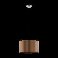 Závěsný lustr - hnědý SAGANTO 1 39356