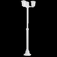 Venkovní lampa/sloupek bílá ALORIA