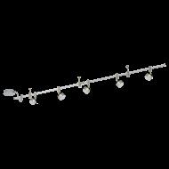 Stropní bodovka s rampou a spoty VILANOVA 1 94418