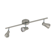 Stropní LED bodové osvětlení, odstín nikl TIBERIO 1 97824
