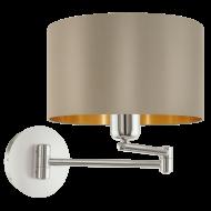 Nástěnná lampa s kloubem MASERLO 95055