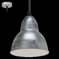 Závěsné osvětlení stříbrné TRURO 49236