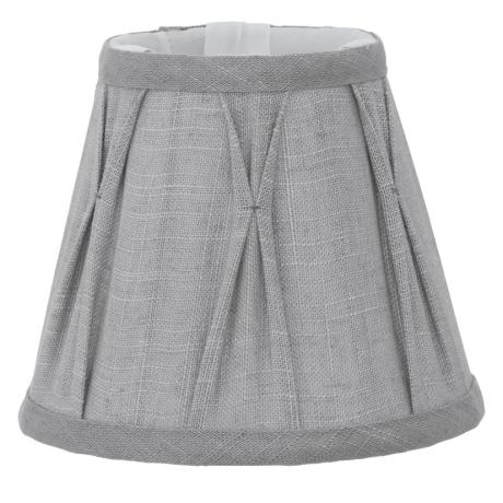 Stínítko textilní šedé 1+1 VINTAGE 49436