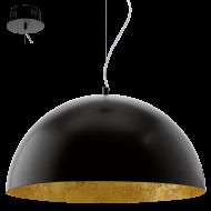 Stropní osvětlení černé GAETANO 94228