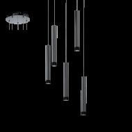 Závěsné osvětlení 5 stínítek RAPARO 93926