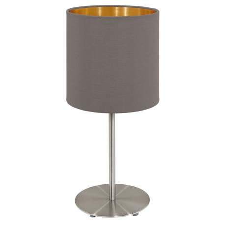 Stolní lampička s textilním stínítkem PASTERI 95727