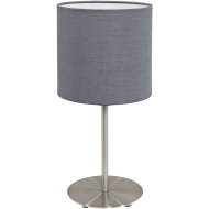 Stolní lampička s textilním stínítkem PASTERI 95728