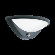 Venkovní nástěnné LED světlo s pohybovým čidlem - antracitové BELCREDA 97312