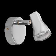 Nástěnná LED bodovka v chromovém odstínu TIBERIO 97828