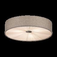 Stropní svítidlo FUNGINO 39442, šedo-bílé