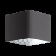 Venkovní nástěnné LED svítidlo DONINNI 1 98269  v odstínu: antracit