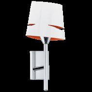 Lampička bílo/oranžová CAPITELLO