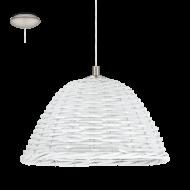 Stropní proutěná lampa vintage styl CAMPILO 2 94942