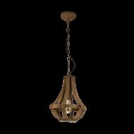 Rustikální závěsný lustr KINROSS 49724