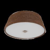 Stropní svítidlo s textilním stínítkem DONADO 96467