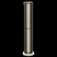 Stojací lampa s dřevěným stínítkem COSSANO 3 96889