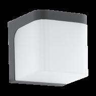 Venkovní nástěnné LED světlo, antracitové JORBA 96256