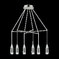 Závěsný LED lustr s dvanácti stínítky SANTIGA 39326