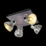 Stropní bodové osvětlení, 4 stínítka BARNSTAPLE 49653