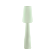 Textilní stojací lampa, pastelově zelená CARPARA 97433