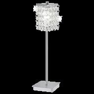Stolní pokojová lampička z křišťálu PYTON