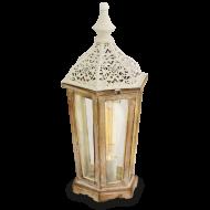 Lucerna dřevěná na žárovku KINGHORN 49278