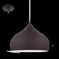 Industriální stropní osvětlení hnědé HAPTON 1 94891