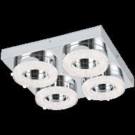 LED stropní osvětlení s křišťálem FRADELO 95664