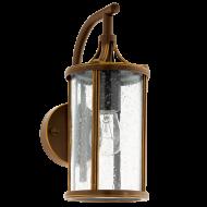 Venkovní nástěnná lucerna, hnědá APIMARE 96233