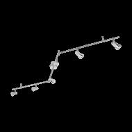 Bodové LED osvětlení, 6 x 3W, chromový odstín TIBERIO 97834